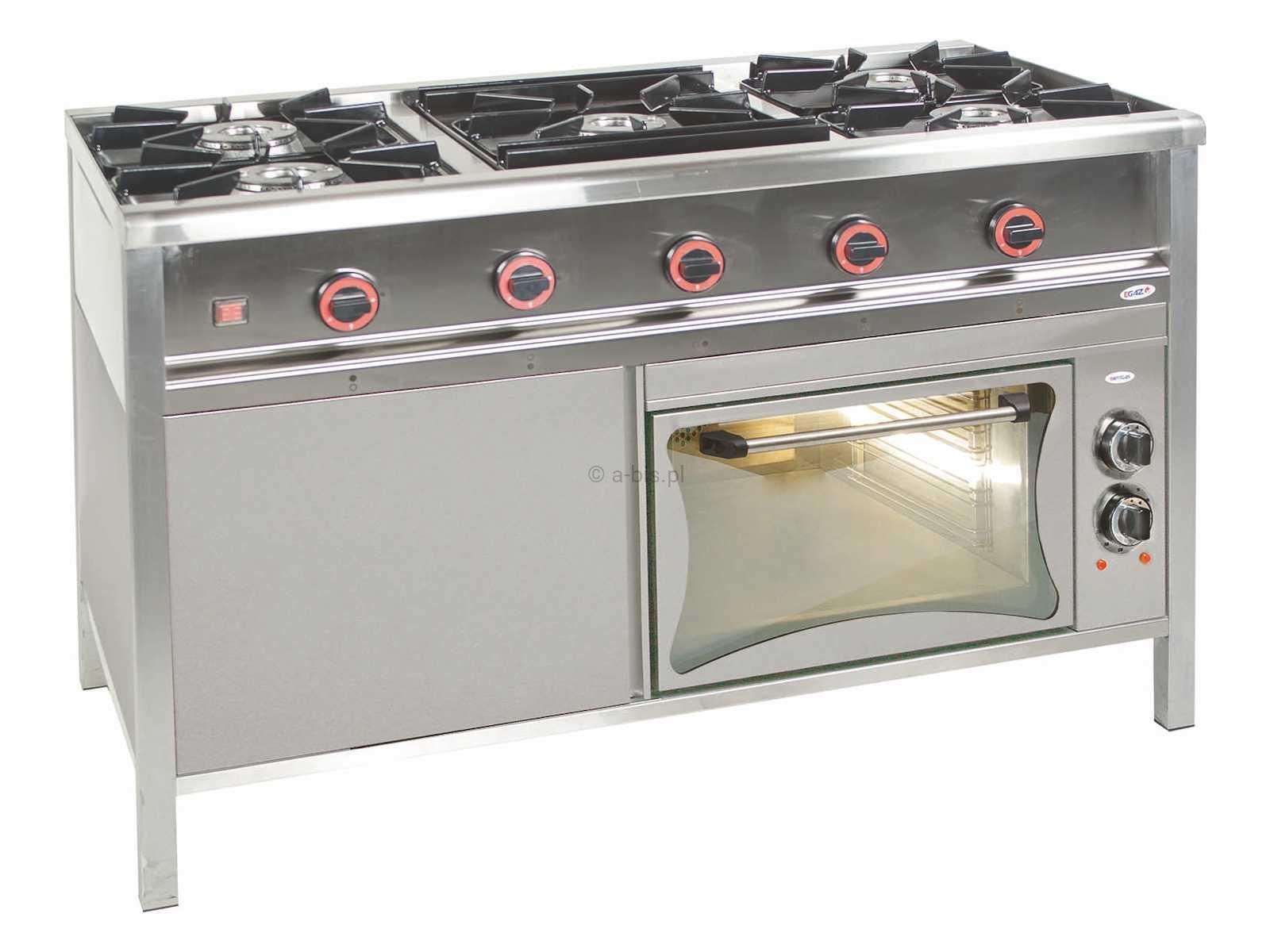 Kuchnia Gazowa 5 Palnikowa Z Piekarnikiem Elektrycznym Tg Egaz